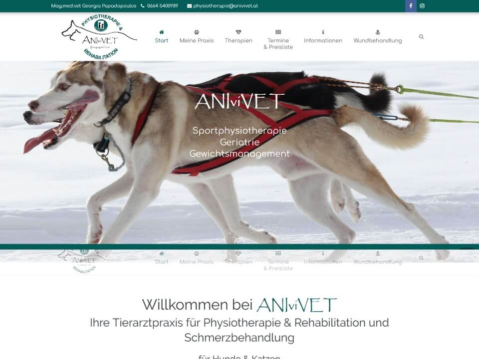 ANIviVET - Physiotherapie & Rehabilitation